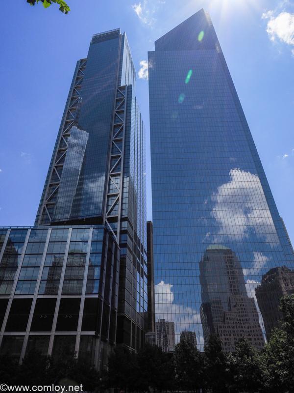 ニューヨークの中心のビルはとてつもなく巨大