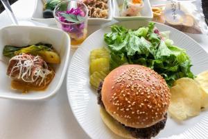 成田空港 ANA SUITE LOUNGE 今日の夕食