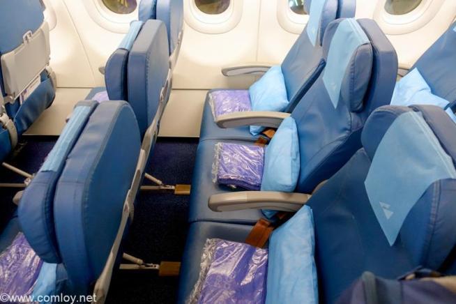 フィリピン航空 PR424 マニラ - 羽田 エコノミークラス