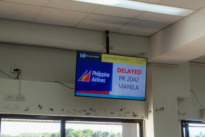 フィリピン航空 PR2042 カティクラン (ボラカイ) - マニラ ボーディング