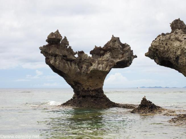 ティーヌ浜-ハートロック