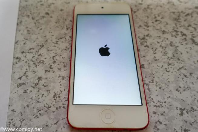 ipod Touch 第6世代 バッテリー交換後の動作チェック