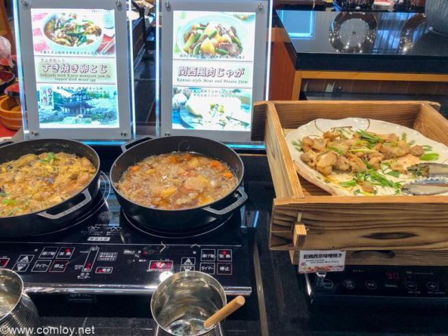 アルモントホテル京都 朝食ビュッフェ