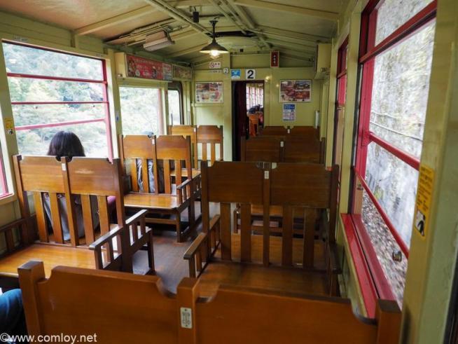 嵐山 トロッコ列車