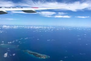 日本航空 JAL906 那覇 - 羽田
