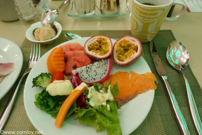ザ ウェスティン グランデ スクンビット バンコク (The Westin Grande Sukhumvit, Bangkok) 三日目の朝食