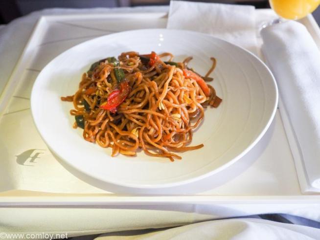 マレーシア航空 MH89 成田 - クアラルンプール ビジネスクラス 機内食