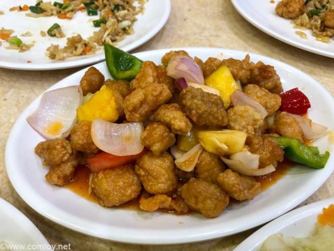 Jln Alorジャラン・アロー通り 粗茶食館 Cu Cha Restaurant