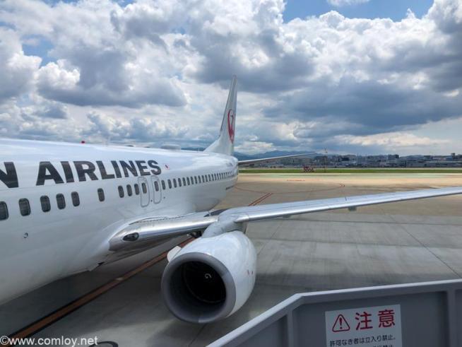 日本航空 JAL3515 福岡 - 札幌