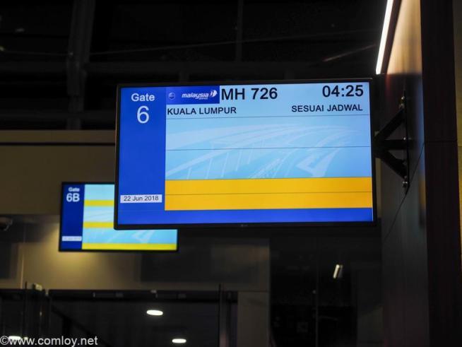マレーシア航空 MH726 ジャカルタ - クアラルンプール ボーディング
