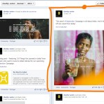facebook charity water