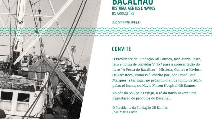 Publicação do Tomo IV – A Pesca do Bacalhau
