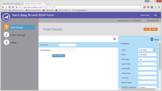 Forms were a staple for marketers. This is Form 2.0, a much better version than the first one we built in 2007.