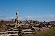 132nd Pennsylvania Infantry Regiment Monument, Antietam National Battlefield Park, Sharpsburg, Maryland, October 22, 2013