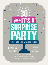 adult birthday invitations simply to