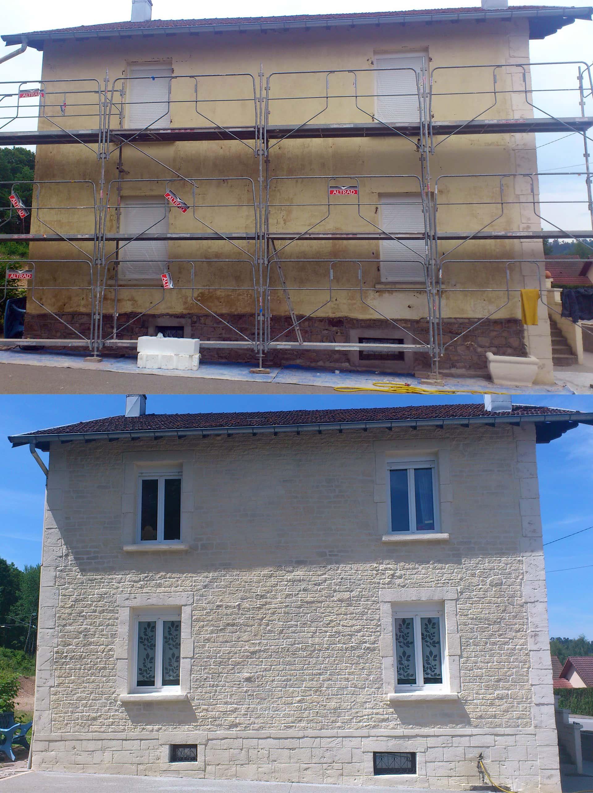 alternative a la pierre de parement pour une facade de maison a epinal