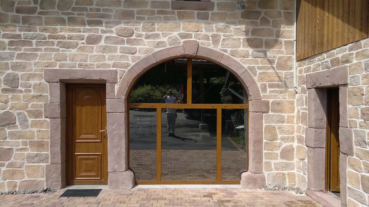 tarifs d'un ravalement de façade imitation pierre