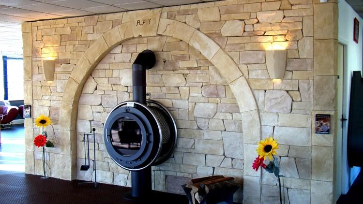 enduit imitation pierre pour la décoration intérieur de votre maison