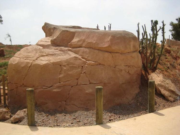 décor à thème enduit décoratif faux rocher