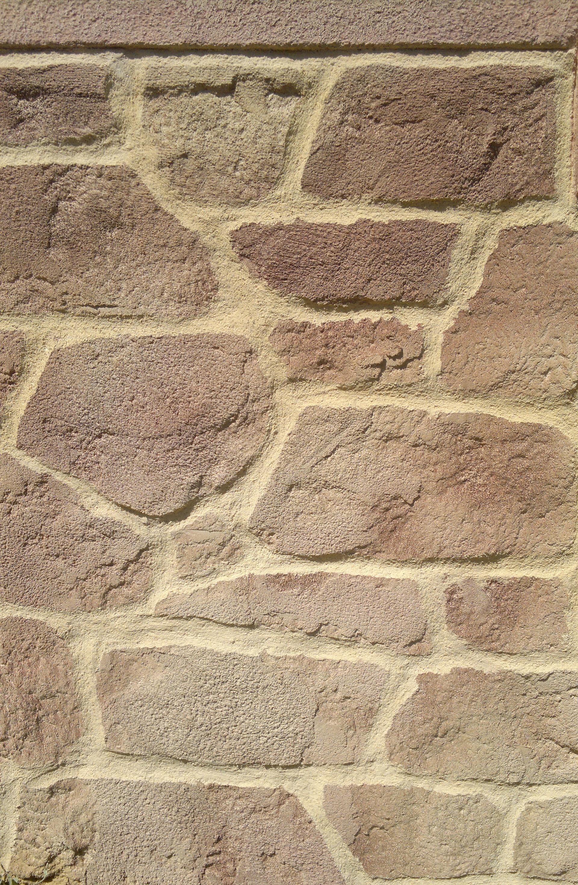 pierre de parement jointé décoration pierre dans les vosges