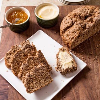 Irish Brown Soda Bread - Cronins (Crosshaven, Ireland) 1