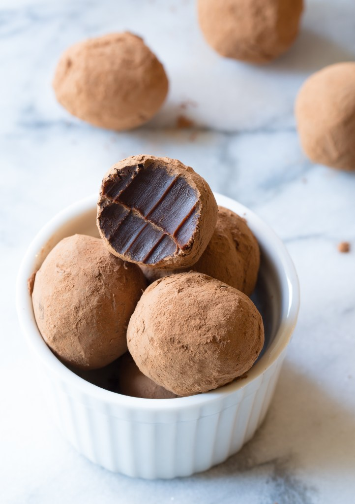 Trufas chocolate negro 1