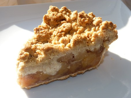 The Dog Inn Apple crumble