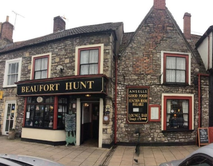 El jardín secreto del Beaufort Hunt en Chipping Sodbury 1