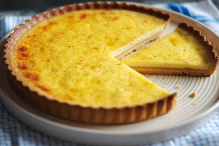 English Custard Tart (Tarta de crema inglesa) 1