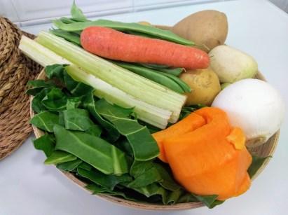 Verduras para la olleta