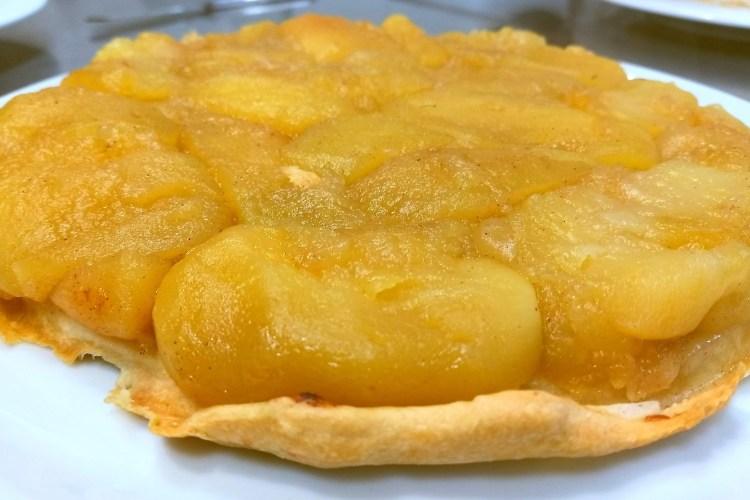 Tarta Tatin de manzana 1