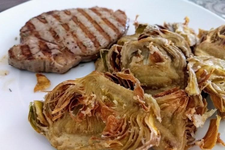 Chips de alcachofa 1