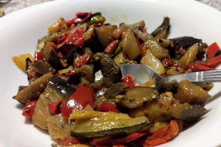 Ensalada de verduras asadas 1