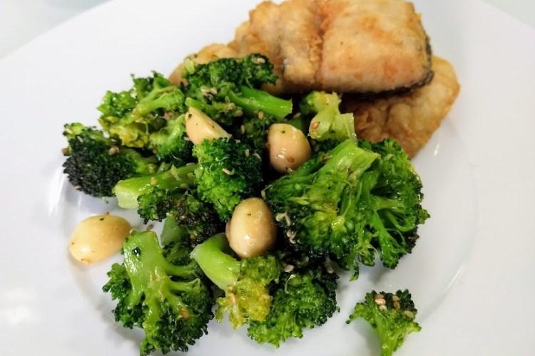 Brócoli al vapor