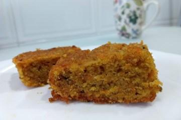 tarta de zanahoria sin cobertura