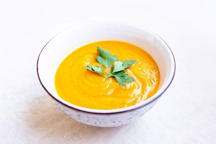 Crema de zanahorias y patatas 1
