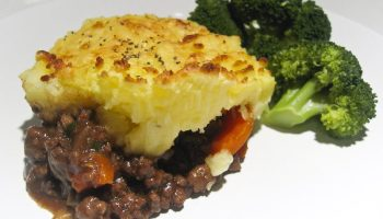 Cottage pie con brocoli