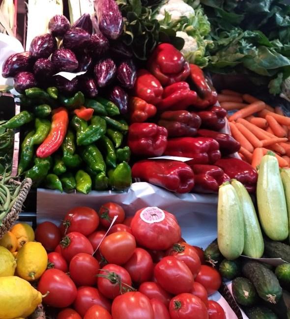 La Cistella, frutas y verduras