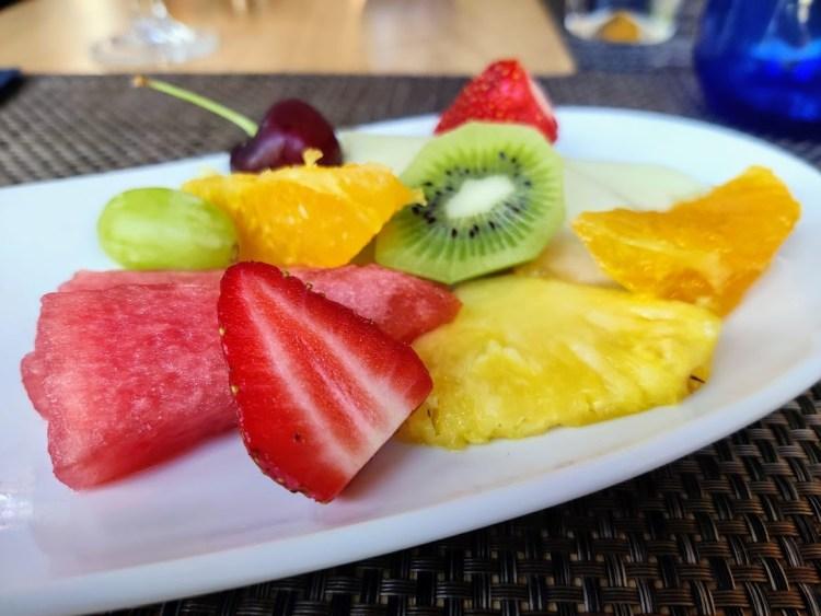 De postre fruta
