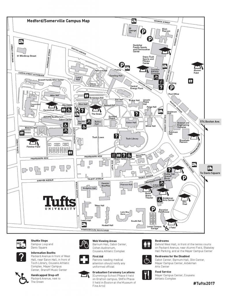 Tufts Medical Center Campus Map