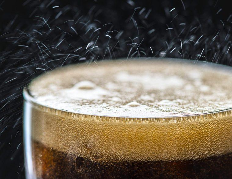 mousse bulles brune brassage biere