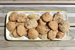 Recette Cookies aux drêches et au choco