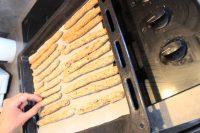 cuisson des gressins aux drêches