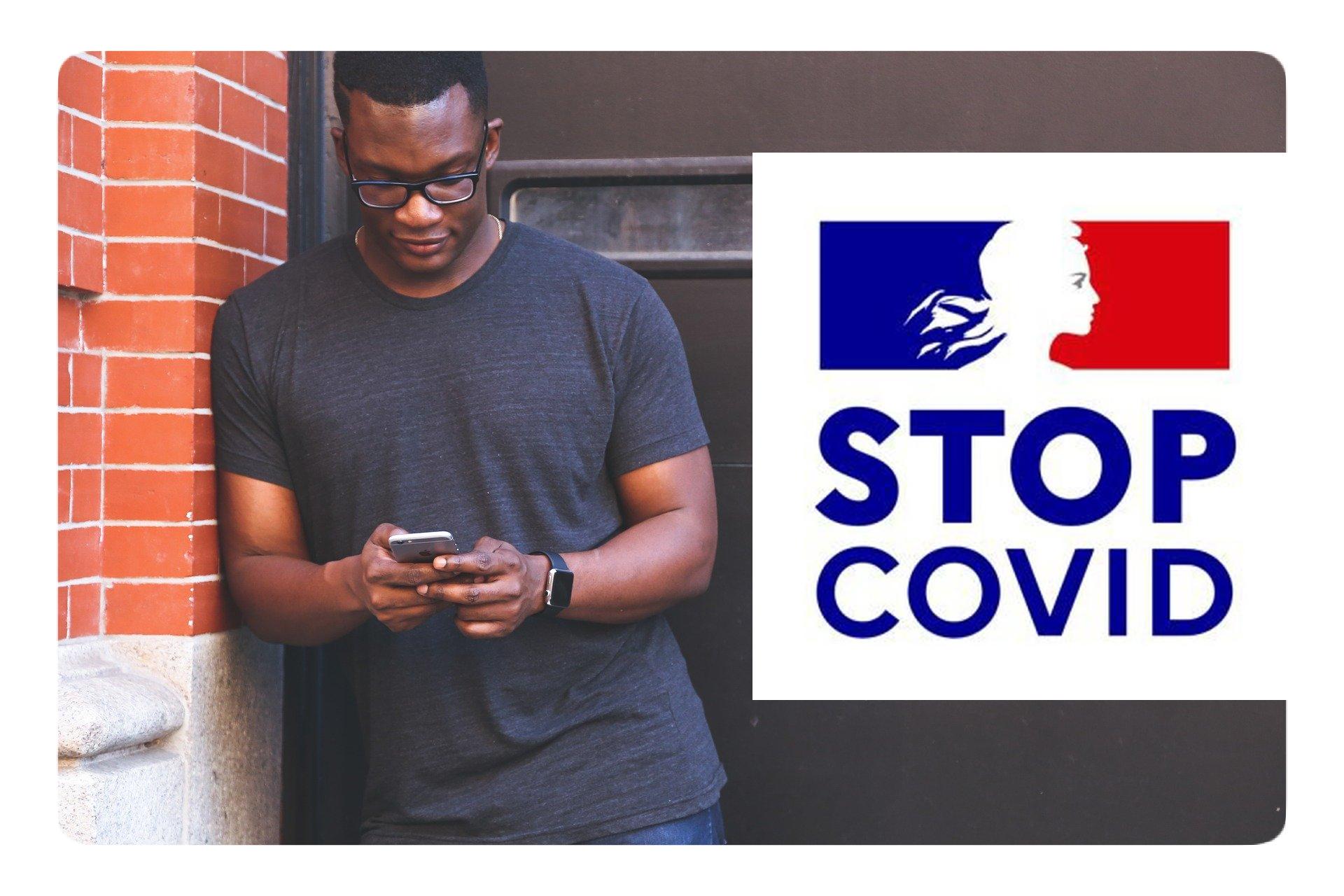 Application STOPCOVID : téléchargements et contacts