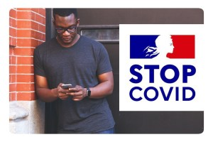 Application STOPCOVID : téléchargements et contacts