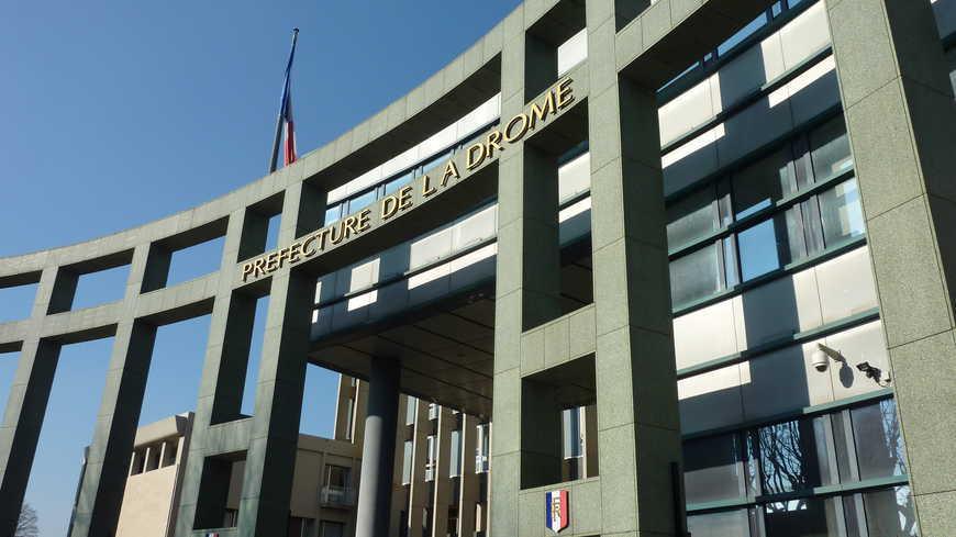 Comment contacter la Préfecture de la Drôme