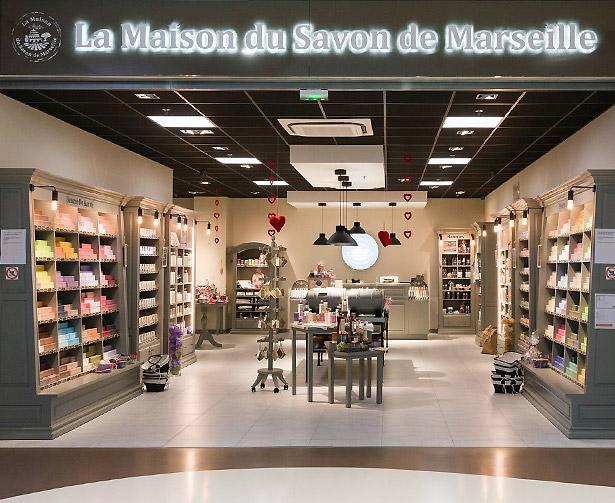 Comment contacter La maison du savon de Marseille ?