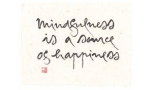 mindfulness happiness