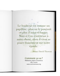 bonheur papillon meditation henry david thoreau