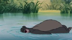 baloo livre de la jungle méditation peu pour être heureux